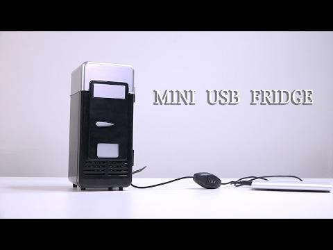 Mini USB Refrigerator Fridge Beverage Drink Cans