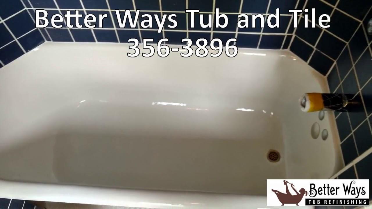 Fiberglass Shower Refinishing Portland