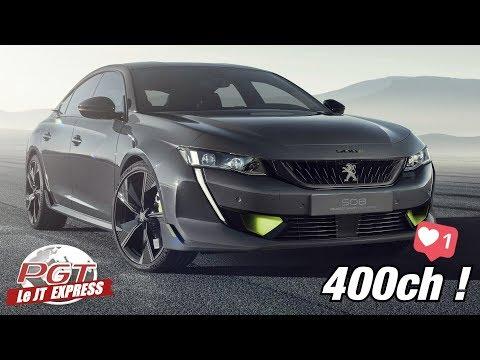 508 Peugeot Sport Concept : En route vers la Production !