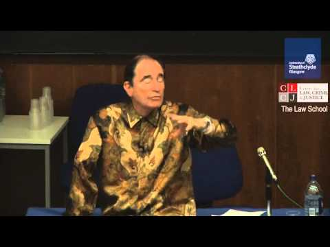 Justice Dr Albie Sachs: Offenders and Victims   Truth, Punishment & Reconciliation (short version)