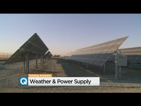 California Weather Changes Affect Power Supply