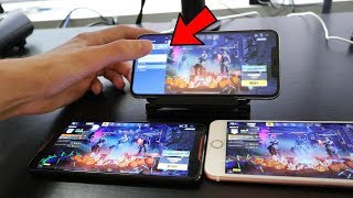 CHEATING in Fortnite Mobile.. (Geheime Art, mit BOTS zu spielen)