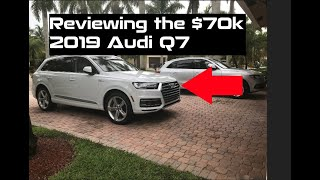 Why does the 2019 Audi Q7 3.0T cost $72,000 !!! Car Review & Overview !