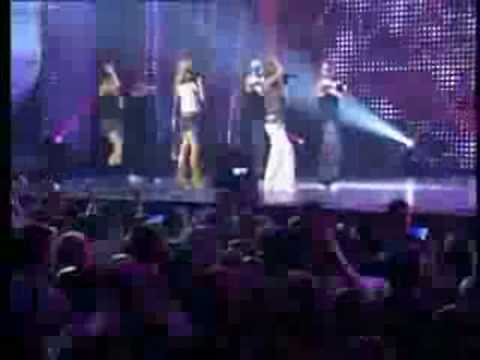atomic kitten, be with you  live at the dome