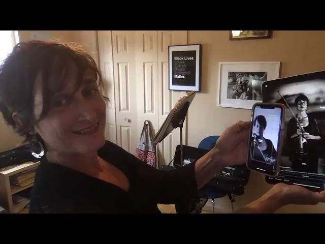 The Santa Fe Symphony | Facebook LIVES with violinist Carla Kountoupes