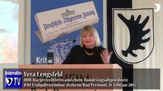 Vera Lengsfeld: 8. Mai 1945 war für SBZ Übergang von einer Diktatur in die andere, keine Befreiung