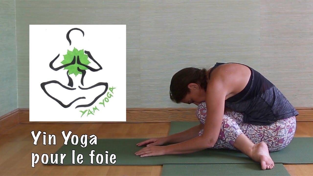 ❤ Pratique 28 - Yin yoga pour le foie - YouTube 799cd326daf