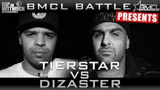 BMCL RAP BATTLE: TIERSTAR VS DIZASTER | powered by audio-technica (BATTLEMANIA CHAMPIONSLEAGUE)