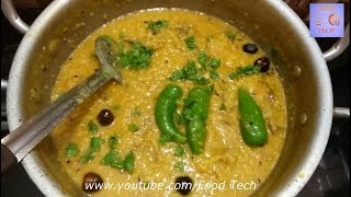 Moong Dal & Chicken Recipe l Restaurant Style l Simple and Easy   Food Tech