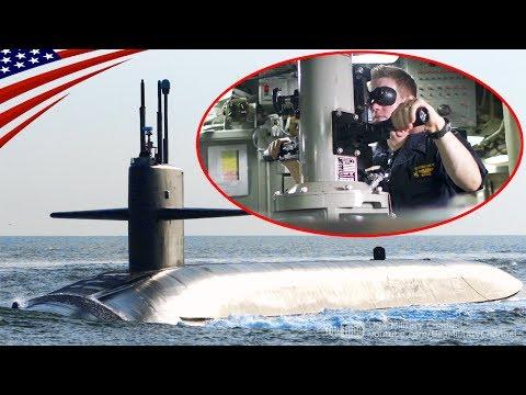 【最高機密】世界最大級の戦略ミサイル潜水艦の艦内映像 [4K]:オハイオ級潜水艦