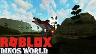 ROBLOX Dinos World - NEW HERBIVORE HYBRIDS ARE OUT + Vinera Dodo!!