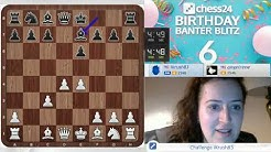 GM Irina Krush | chess24's 6th Birthday Banter Blitz