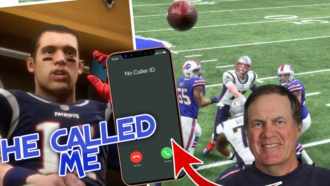SURPRISE CALL FROM COACH BELICHICK!  Madden 19 Career Mode