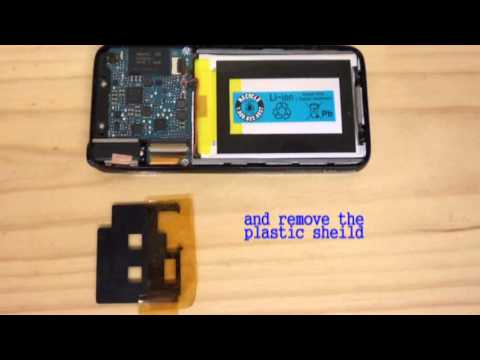 How to Replace Battery - Sony NWZ-S639F mp3 Player