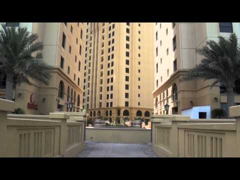 Jumeirah Beach Residence in Dubai is an up market beach front property