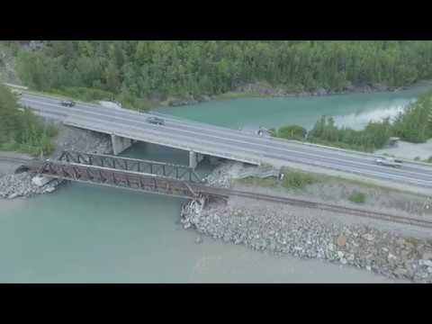 Anchorage, Alaska Drone Footage