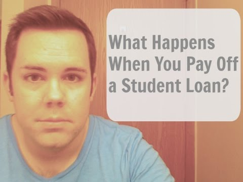 What Happens When You Pay Off a Student Loan?