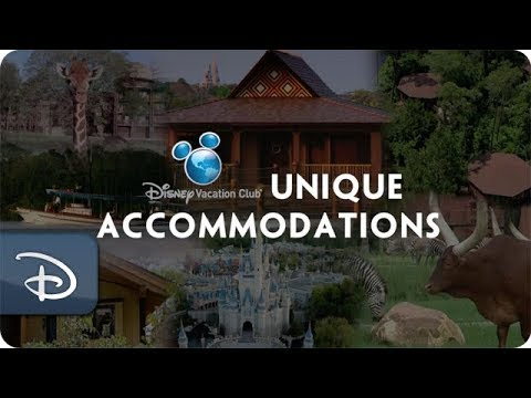 5 Unique Disney Vacation Club Accommodation Options