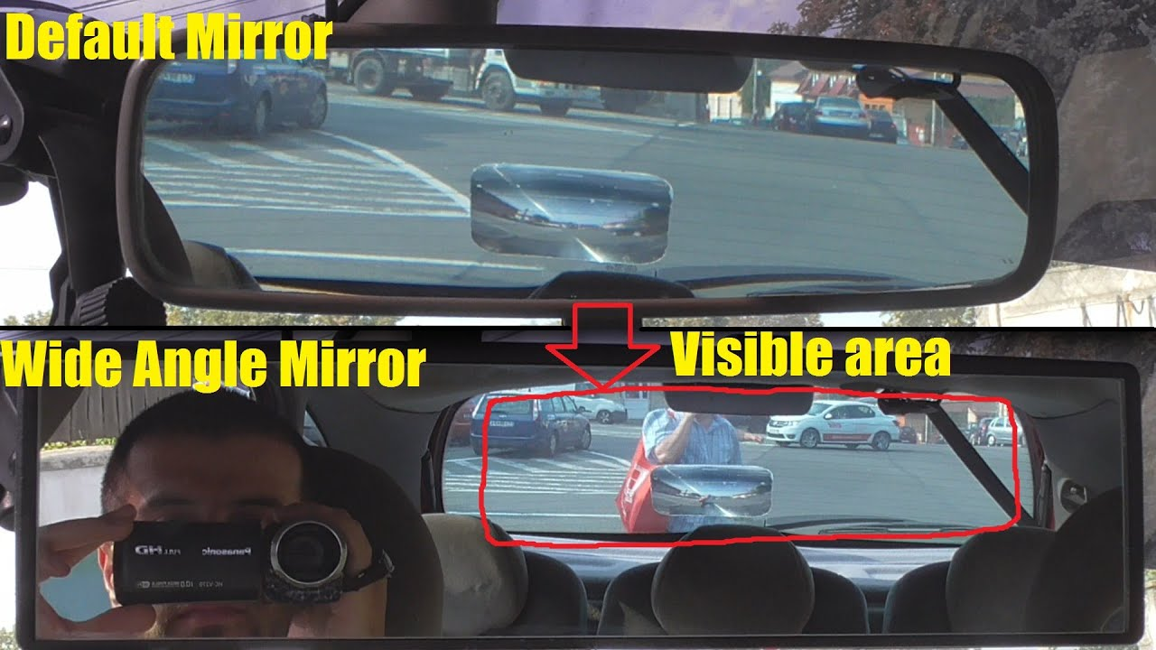 Interior Wide Angle Mirror (Unboxing, Installation, Test) - YouTube