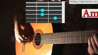 Петлюра - Стена (Разбор на гитаре)