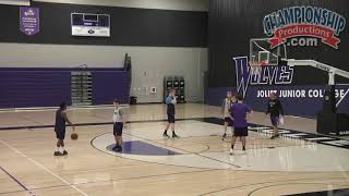 Drill for Getting Open in the Blocker-Mover Offense!