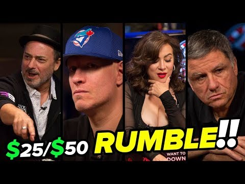 Tilly and Pollak RUMBLE With Sharks at Gardens Casino! | 25/50 NLH Cash Game