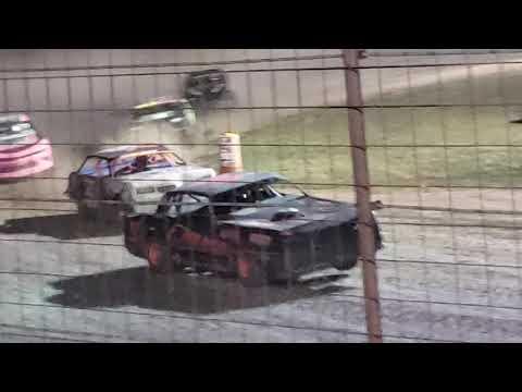Stock car feature Salina Speedway 7.26
