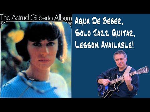 Agua De Beber, Antonio Carlos Jobim, Solo Guitar, lesson available