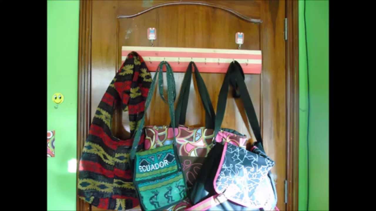Organizador de carteras maletas diy youtube - Organizador de carteras ...