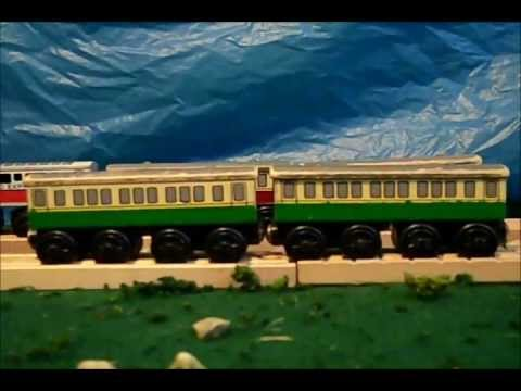 Custom Green Express Coaches