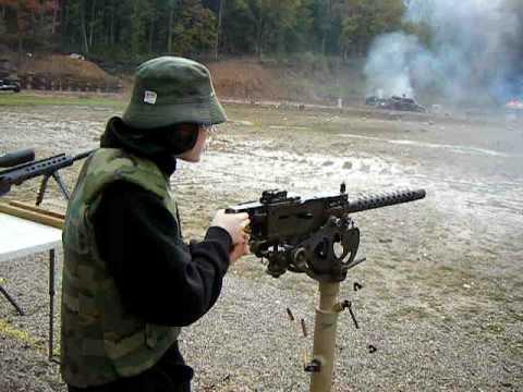 Browning FN30 30 Caliber Machine Gun Full Auto