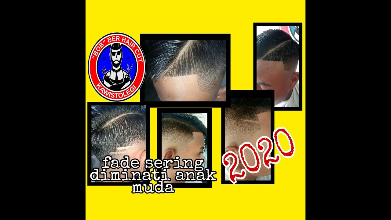 5 gaya rambut fade paling sering direquest anak muda jaman ...