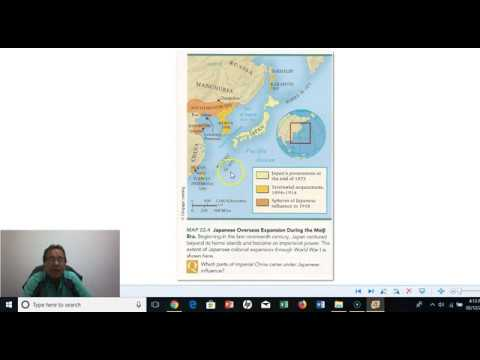 5 HI 122 Part five Reasons for Japanese expansion overseas in Meiji period