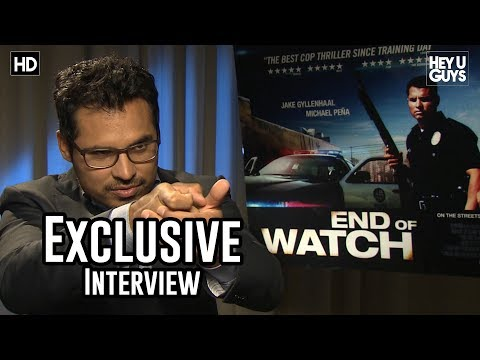 Michael Peña Interview - End of Watch