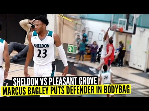 Marcus Bagley And The Sheldon Huskies Put On A Dunk Show Vs Pleasant Grove | Full Game Highlights