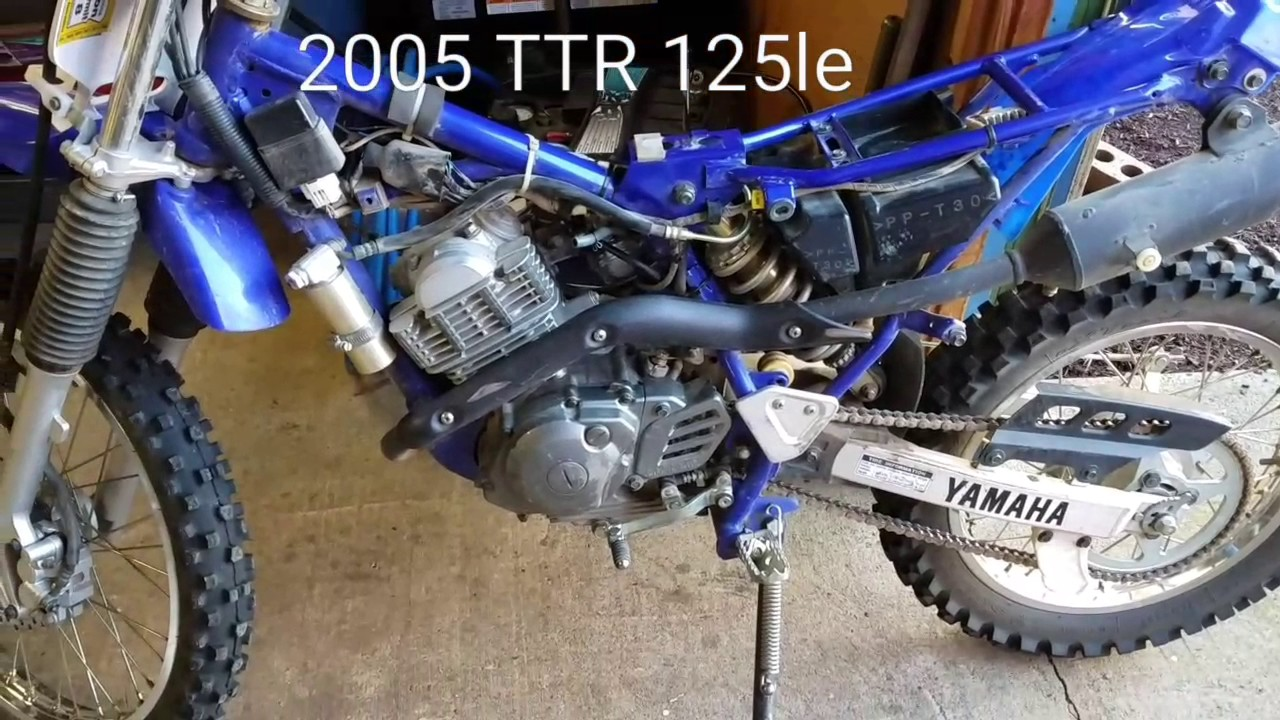 Yamaha TTR 125 shifting problem fix