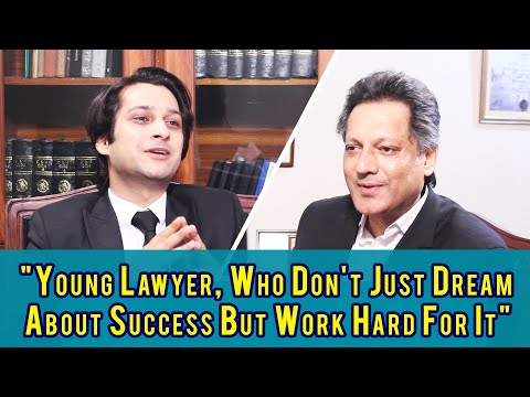 Guest Thinker Usama Malik l Young Lawyer, Who Don't Just Dream About Success But Work Hard for it