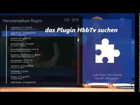 Openatv 4 0 Hbbtv Plugin Installieren Youtube