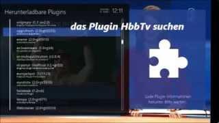 openATV 4 0 HbbTV Plugin installieren