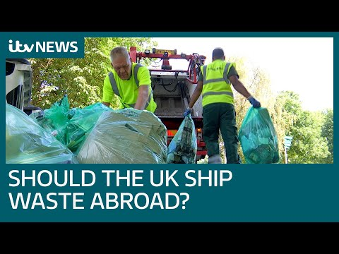 Bandages, body parts and hazardous waste: The illegal waste returned to the UK | ITV News