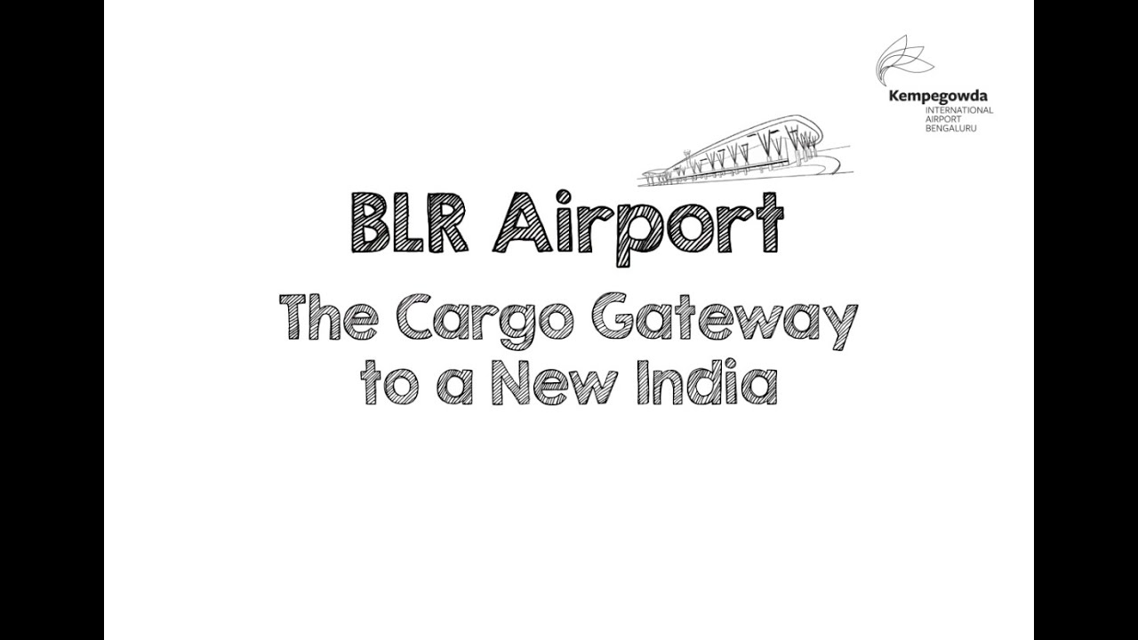E-commerce at #BLRAirport - The Cargo Gateway to a New India