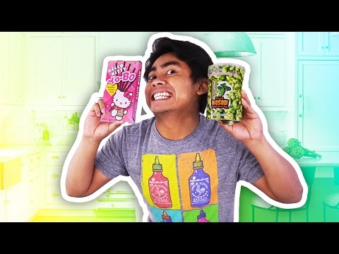 Thumbnail: GUAVA JUICE TRIES JAPANESE SNACKS!