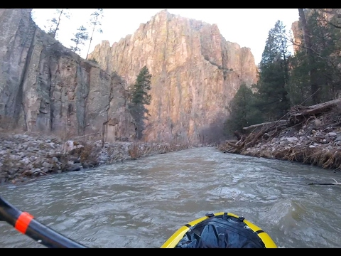 Gila River Packraft: Middle and West Forks. Feb 2017