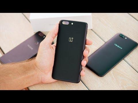 OnePlus 5 8/128Gb: распаковка рядом с OnePlus 3T, Mi6, Nubia Z17 и Oppo R11