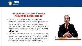 UTPL FIGURAS DE DICCIÓN Y OTROS RECURSOS ESTILÍSTICOS [(CCEE)(ESTÉTICA Y BELLEZA LITERARIAS)]
