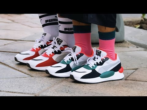 A LOOK AT: PUMA RS 9.8 Space - YouTube