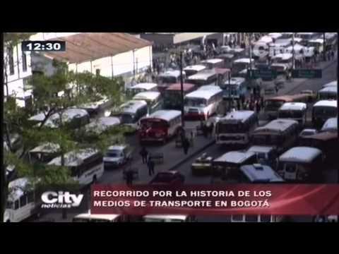 Citytv: Recorrido por la historia de los medios de transporte en Bogotá