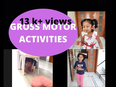 Gross Motor Activities for Toddlers at Home   Fun activities for kids   Keep kids active at home