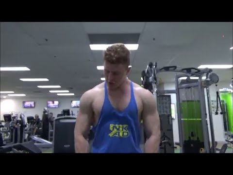 Insane Chest, Triceps and Shoulder Workout | Natural Teen Bodybuilding