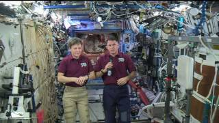 Space Station Crew Members Discuss Life in Space with Acting Administrator, Aviation Industry Expert